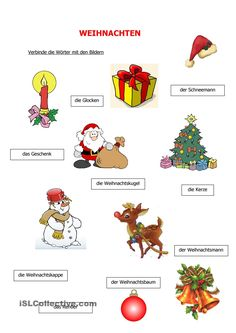 Weihnachten Foreign Language Teaching, German Language Learning, Teaching Materials, Pre School, School Projects, Preschool Activities, Kids Learning, Bowser, Crafts For Kids