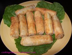Cooking to De-Stress: Moroccan Potato Spring Rolls