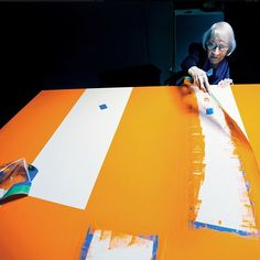 """""""You can't talk about art, you have to art about art."""" Carmen Herrera"""