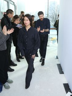 Sarah Linh Tran et Christophe Lemaire