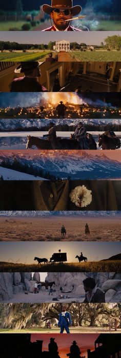 Django Unchained Cinematography