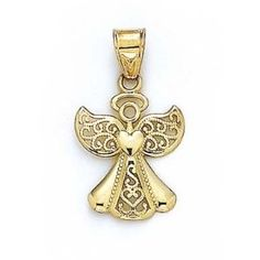 51 best angel jewelry images on pinterest archangel angel gold angel pendant aloadofball Choice Image