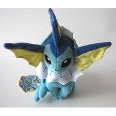 Pokemon 2012 Vaporeon Takara Tomy Plush Toy
