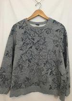 Floral Grey Sweatshirt!