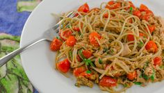 This simple pasta recipe with canned tuna, is quick, easy, affordable, and tastes delicious. Fresh sauce that can be cooked in the time it takes to boil pasta