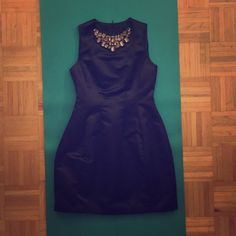 Zara Crystal Black Cocktail Dress NWOT. Full lining inside. 100% Acetate. Welcome offers. No trades! :))) Zara Dresses Midi