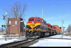 kansas city southern railroad | RailPictures.Net Photo: KCS 4575 Kansas City Southern Railway GE ...