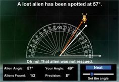 Angle Aliens Game