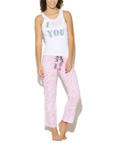 I Love You Pant Set | Wet Seal #valentinesday #pajamas Pyjamas, Pjs, Cute Pajamas, Lazy Outfits, Wet Seal, Latest Fashion Clothes, Beanies, Sweet Dreams, Onesies