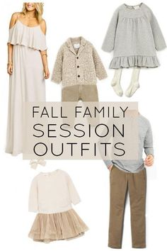 Inspiration For Fall Family Sessions Fall Family Session Outfit Ideas with direct links to some of my favorite outfits this fall!Fall Family Session Outfit Ideas with direct links to some of my favorite outfits this fall! Fall Family Picture Outfits, Family Photo Colors, Family Portrait Outfits, Fall Family Photos, Family Pictures, Family Posing, Family Portraits, Outfits Tipps, What To Wear Fall
