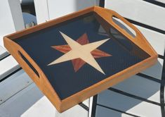 Carbon fiber serving tray with compass rose inlay Compass Rose, Carbon Fiber, Tray, Furniture, Wind Rose, Trays, Arredamento
