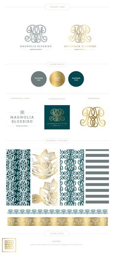 Introducing MAGNOLIA BLUEBIRD DESIGN & EVENTS | Branding Design Wedding & Event Designer
