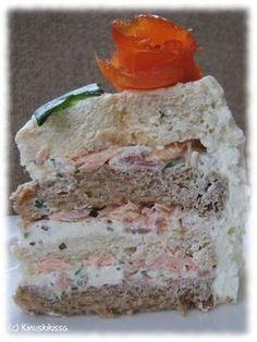 Lohivoileipäkakku   Kinuskikissa - Suomen suosituin leivontayhteisö
