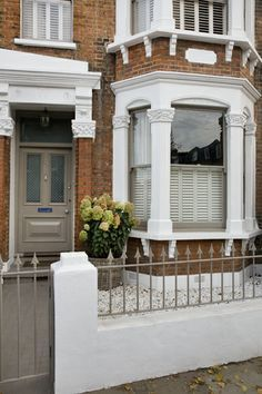 olive trees in front of house london - Google Search