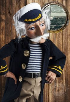 """The Sea Wolf Sailor"" Czech Marionettes."