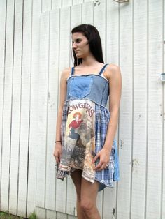 xsmall  large  / Cowgirl / Upcycled clothing / Funky by CreoleSha, $87.99