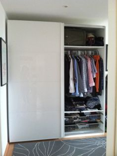 White Wardrobe Picture #2: 400 Euros, excellent condition, 2 years old.