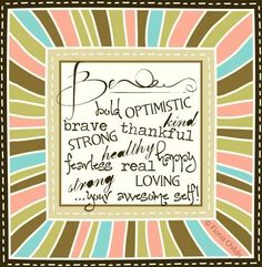 Be your awesome self! quote via www.Facebook.com/FionaChilds