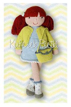 Melanie - lalka na szydełku/ Gehäkelte Puppe w Kuferek Bietki na DaWanda.com