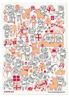 Anorak advent calendar - miguel-bustos.com