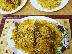 Hyderabadi chicken biriyani is said to be the most popular among all other regional biriyani. Mainly this dish is based on basmati rice and goats meat, but can also use chicken instead of  goat. The blending of rice and chicken in hyderabadi dhum biriyani is almost the same like malabar dhum biriyani or thalassery dhum biriyani. But the ingredients used and the way of preparation made it different from other regional biriyani.                        Hyderabadi  chicken biriyani is the spicy,