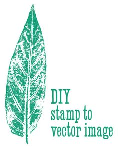 Stamp to Vector #photoshop #illustrator #tutorial