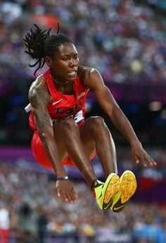 Brittney Reese, Gold Medal winner 2012 Olympic long jump