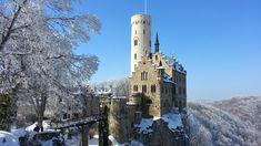 Lichtenstein Castle. Castle in Germany, Europe