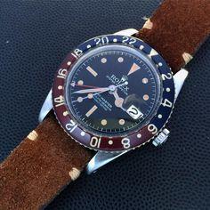 """""""Rolex GMT for PSG-chelsea #Rolex #GMT #pepsi #pepsibezel #6542"""""""