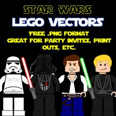 Free Star Wars Lego Icons-RebeccaAllenCreative by rebeccaallencreative