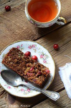 Paleo Cranberry-Pecan Loaf