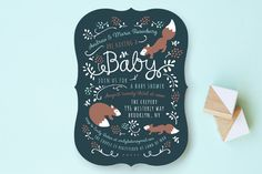 Little One Baby Shower Invitations by JeAnna Casper at minted.com