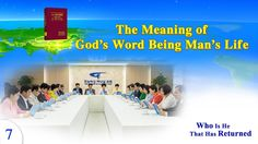"""Gospel Movie clip """"Who Is He That Has Returned"""" - The Meaning of God. Believe In God, Meant To Be, Words, Movies, Life, Watch, Youtube, Clock, Films"""
