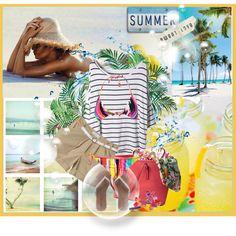 """Summer mood....ready for vacation <3"" by dani-kolarova on Polyvore"