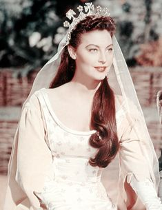 """Ava Gardner as """"Queen Guinevere"""" in Knights of the Round Table (1953)"""