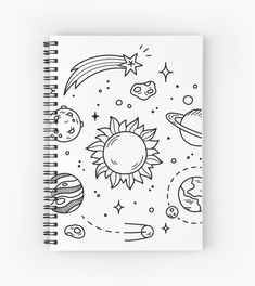 Healthy breakfast ideas for picky eaters women video Tumblr Sketches, Tumblr Drawings, Art Sketches, Space Drawings, Pencil Art Drawings, Easy Drawings, Diy Notebook Cover, Arte Sketchbook, Doodle Art Journals