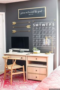 decorating ideas for home office. How To Make A Stylish DIY Acrylic Calendar Decorating Ideas For Home Office O