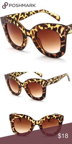 b081b45f1bd3b Elegant Cat Eye Sunglasses Elegant Vintage Style Fashion Cat Eye Sunglasses.  Very original color.