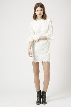 This mini dress from Topshop would be the perfect laidback wedding dress!