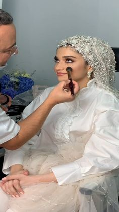 lebaneseweddings on Instagram: Get Ready With Our Gorgeous Bride 🥰 _______________________ ▪︎Makeup: @bassamfattouh ▪︎Wedding dress: @ramikadi ▪︎Jewelry: @nsoulijewelry… Lebanese Wedding, Wedding Videos, Wedding Moments, One Shoulder Wedding Dress, Audio, Bride, Wedding Dresses, Makeup, Jewelry