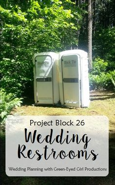 Wedding Restroom Planning and Rental.Hospitality Stations for Guests Project Block 26 from Green-Eyed Girl Productions