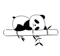 Best Ideas For Wall Paper Fofos Preto Panda Pencil Art Drawings, Easy Drawings, Animal Drawings, Art Sketches, Panda Wallpapers, Cute Wallpapers, Cute Panda Drawing, Panda Painting, Wall Painting Decor