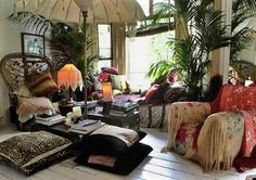 interior by Sera Hersham Loftus- Sera of London (from Daisy Pink Cupcake blog)