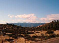 Landscape of Central Chile,