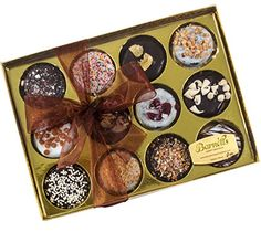 Elegant Chocolate Covered Sandwich Cookies Giftbox >>> You can find out more details at the link of the image.