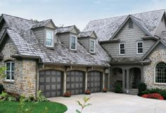C H I Overhead Doors Model 5916 Long Panel Steel