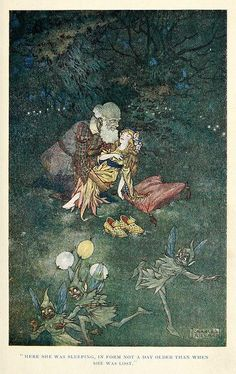 Illustration by Charles Folkard.