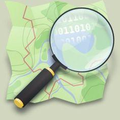 Carte des traces de randonnées VTT GPS