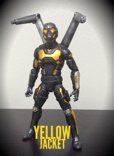 Yellow Jacket 2.0 Marvel Cinematic (Marvel Legends) Custom Action Figure