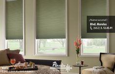 Las persianas Celulares ademas de estar muy de moda son las que nos protejen mas del calor y de los rayos solares.  #plovalco #decoraciondeinteriores #hermosillo #sonora #casa #hogar #homedecoration #cortinas #persianas - http://ift.tt/1QIZuz0